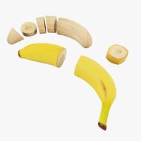 3d max banana cuts