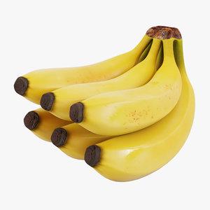 banana stem 3d model