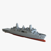 3d uss new york model