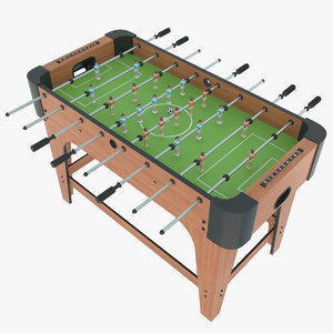 foosball ball 3d 3ds