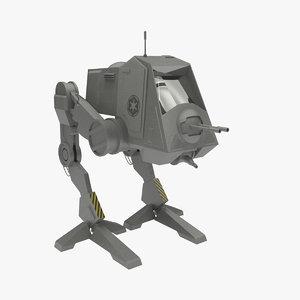 3d model of at-pt walker