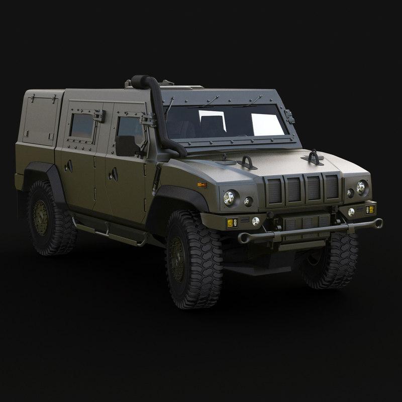lmv long armored max