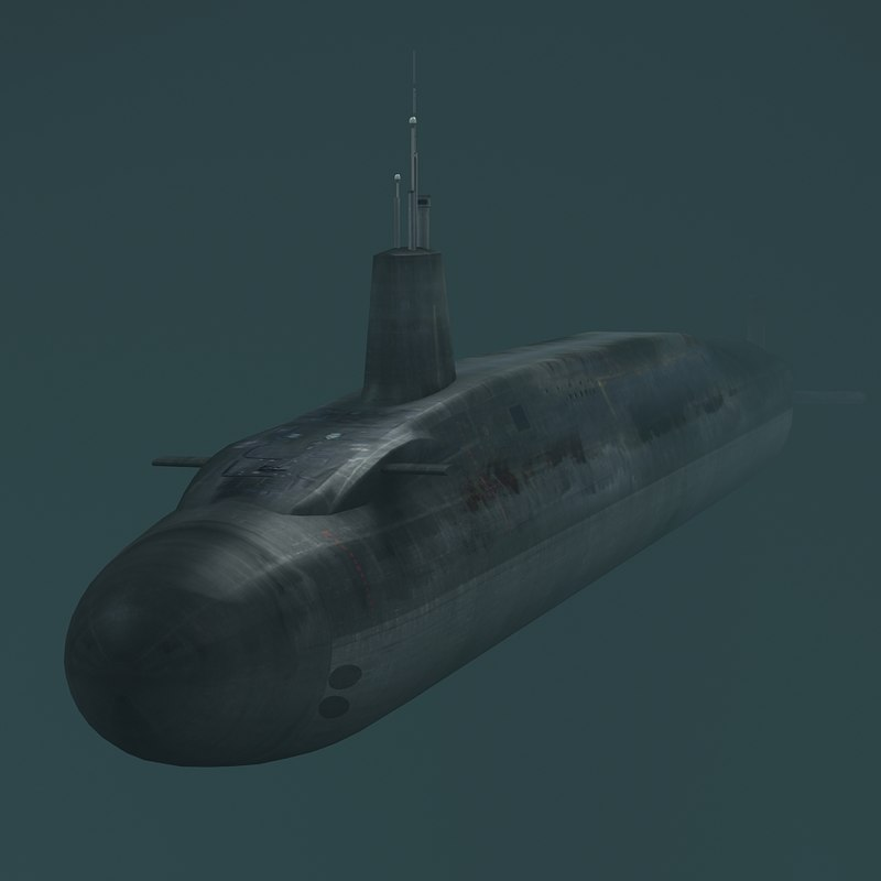 hms vigilant s30 submarine 3d max
