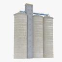 silo 3D models