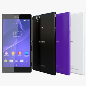 3d model of realistic sony xperia t