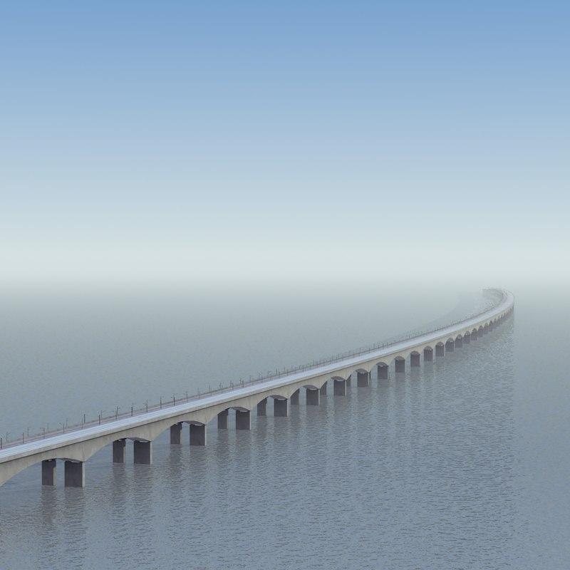 3ds 6km rail road bridge