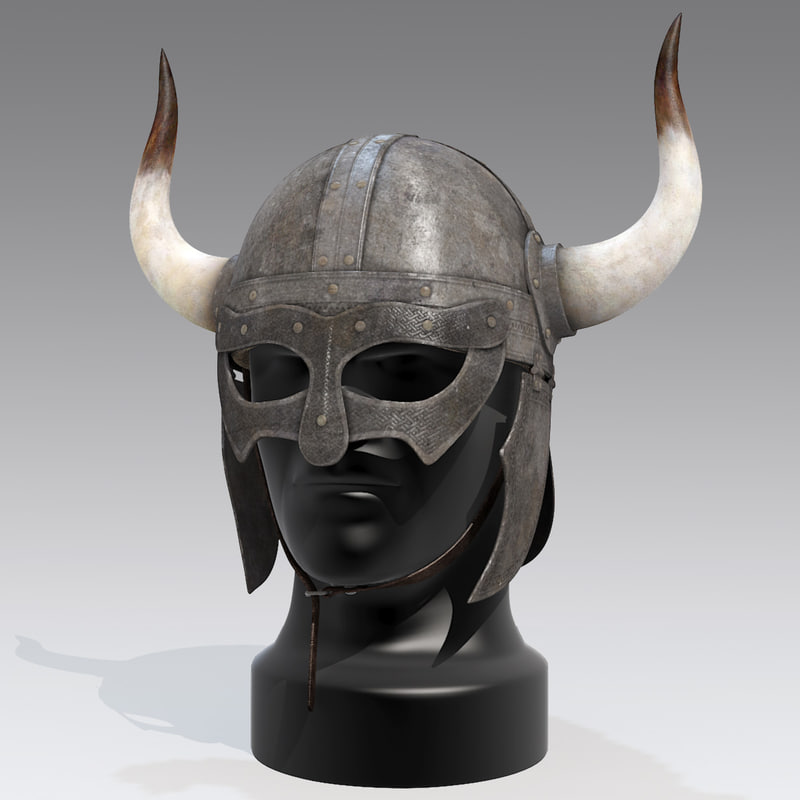 Horned Helmet Worn In By People In The Ancient World