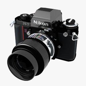 3d f3t nikon model