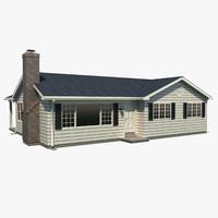 One Story House A1008B