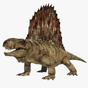 dimetrodon reptile max