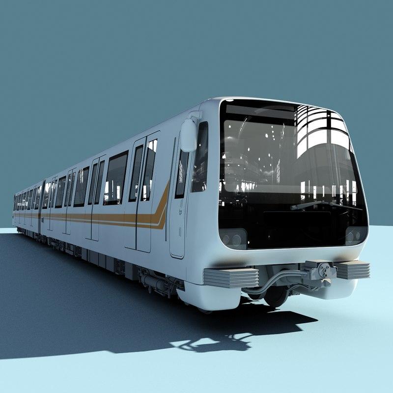 3ds max metro roma