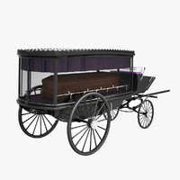 Hearse and Coffin