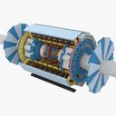 Particle accelerator 3D models