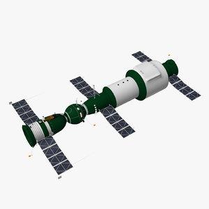 soyuz 1 salyut spacecraft max