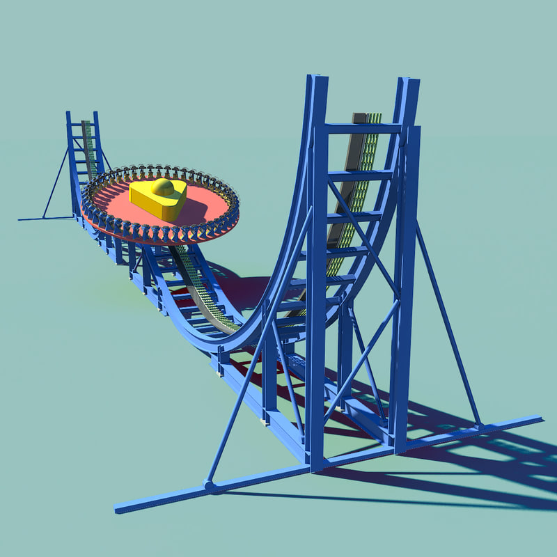 3d crazy joust wheel