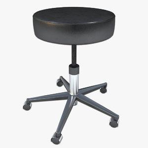 doctor stool 3d model