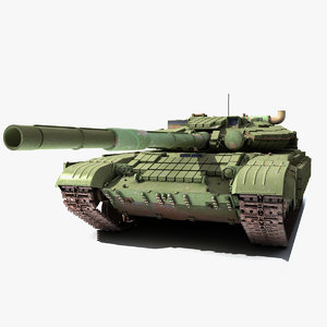 tank armor t-64 3d model