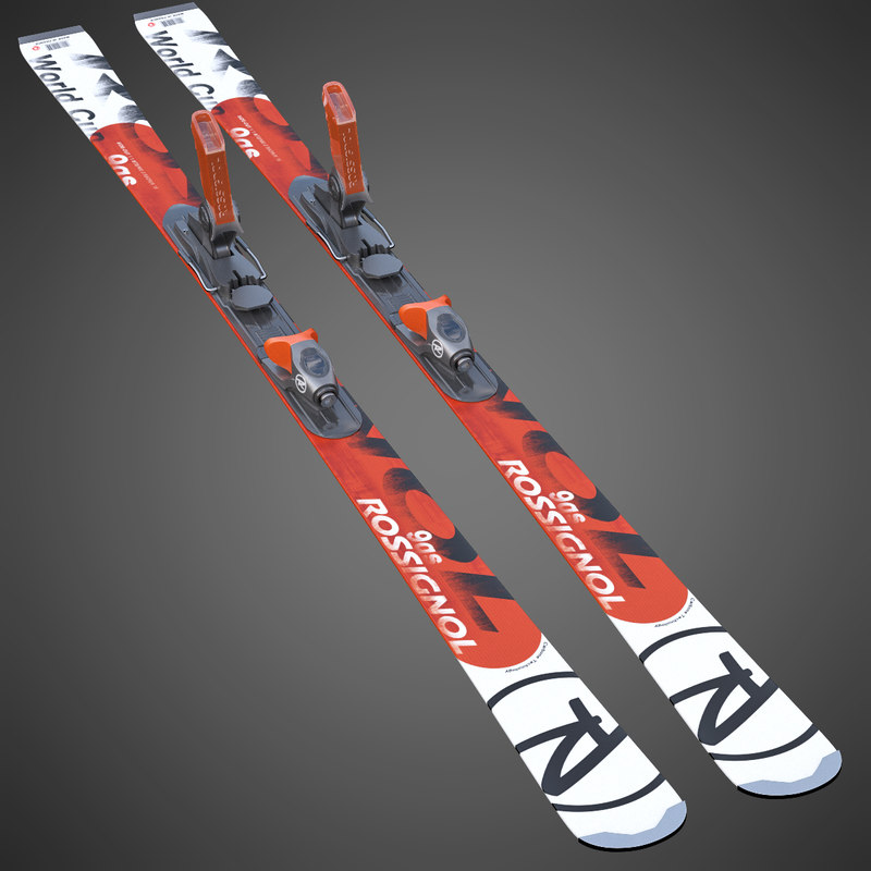 3d rossignol skis alpine model