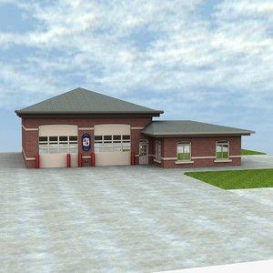lwo firehouse building