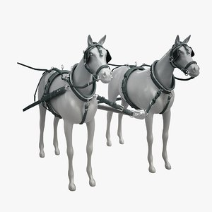horse harness 3ds
