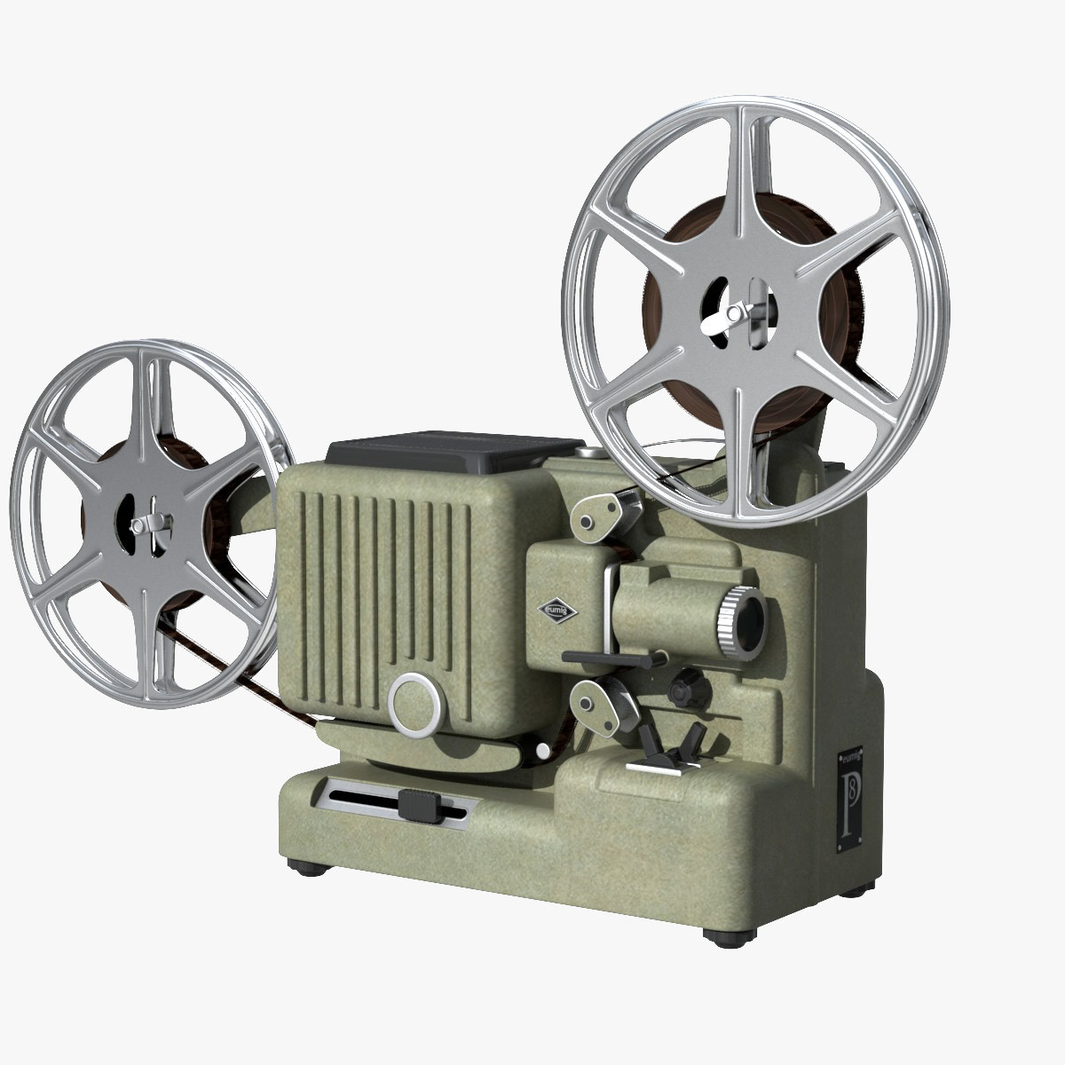 projector eumig movie 3d film reel 3ds projectors turbosquid theater classic hq movies poston found ebal studios models camera cameras