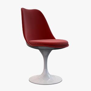 3d tulip chair knoll model