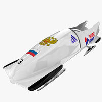 Bobsleigh Sled - Russia