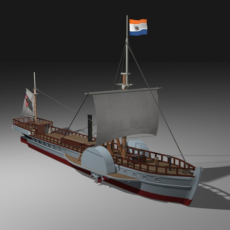 lwo north river steamboat