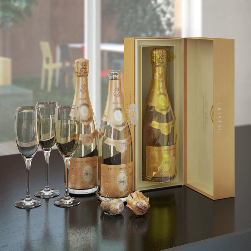 cristal champagne - max free