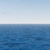 3d model photo realistic sea