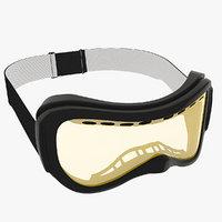 3dsmax ski goggles