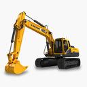 Heavy Construction Machinery 3D models