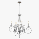 crystal chandelier 3D models