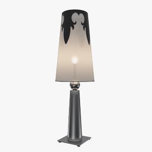 obj excalibur lamp