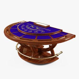 max blackjack table