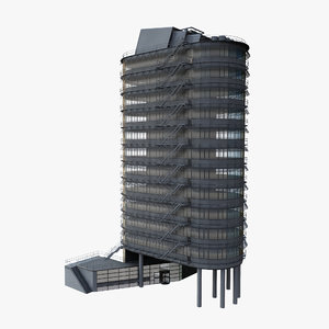 3ds office block hotel