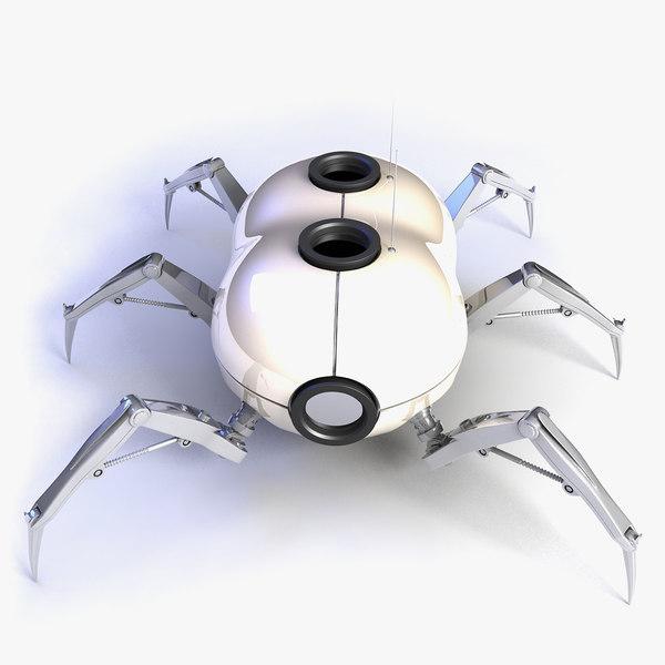 max robot spider