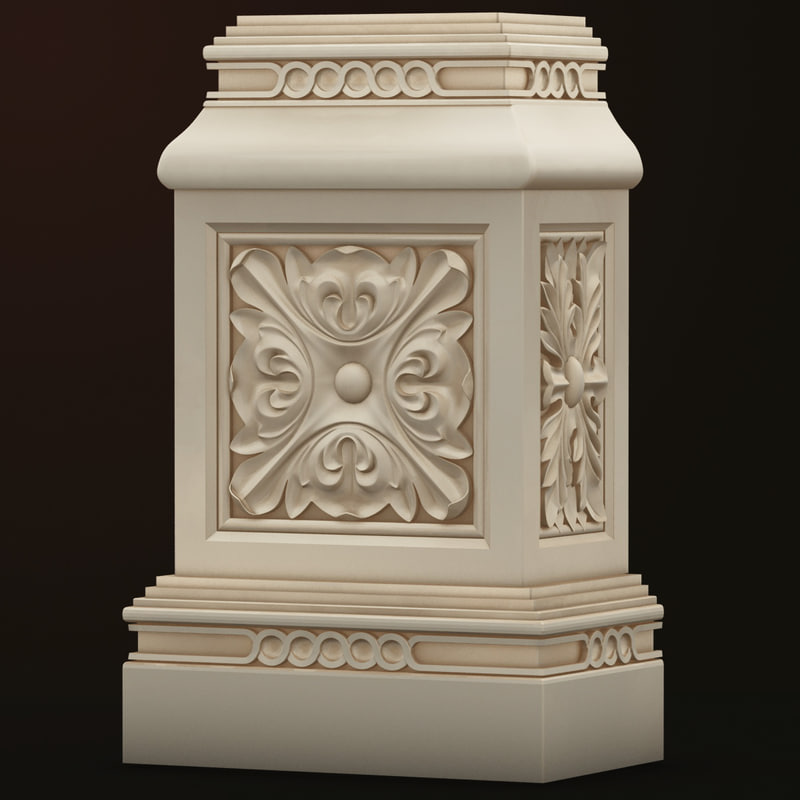base decor 3d model