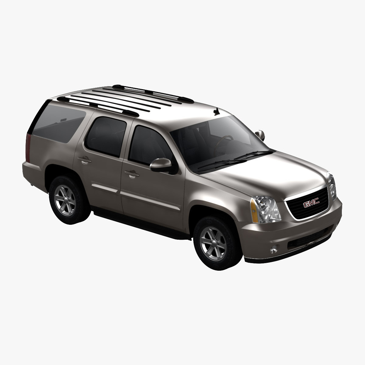 3d model of gmc yukon