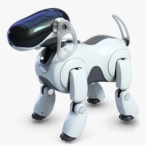 3dsmax aibo robot bot