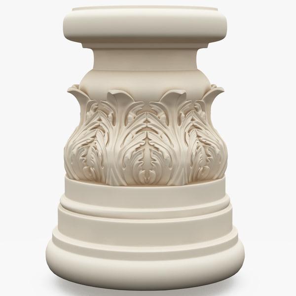 column base 3d model