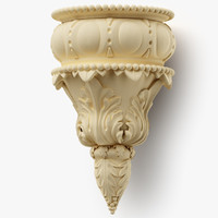 decor wall corbel 3d model