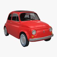 3d fiat 500 classic model