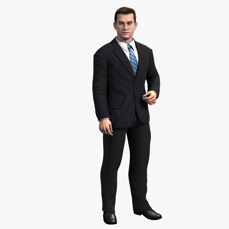 Dave Realistic Male 3d Model