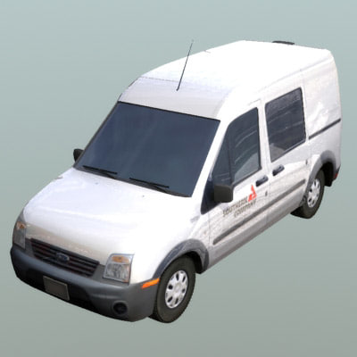 3ds max connect panel van