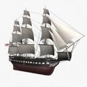 USS Constitution 3D models