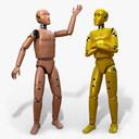 crash test dummy 3D models