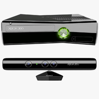 Xbox 360 S With Kinect