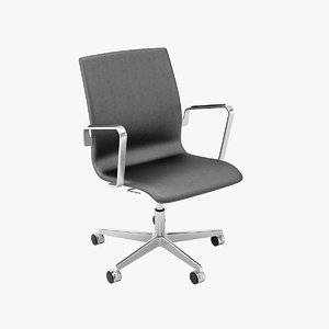 oxford chairs 3d model