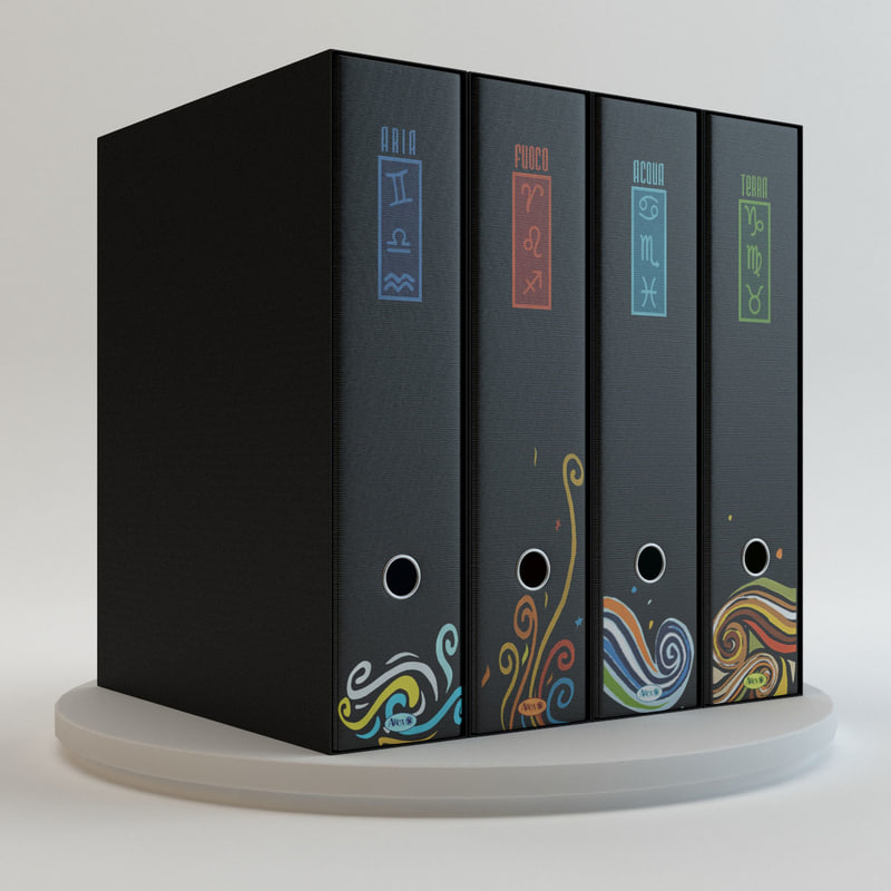 - arca office binder 3d model